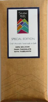 68% Bolivian Dark Chocolate with Toasted Hazelnuts